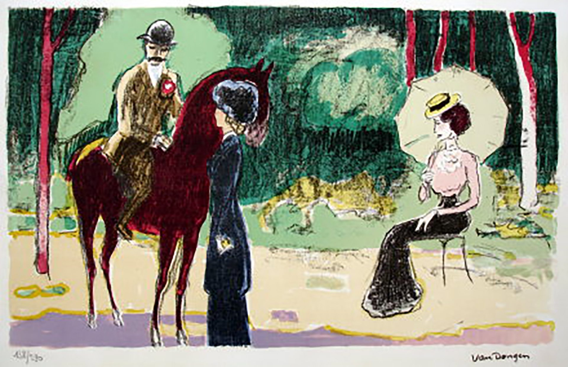 35_Kees_Van_Dongen_JL26_Meeting_in_the_Woods_2