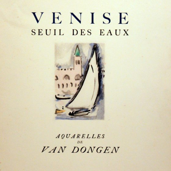 Venise 11 – Illustrated by Kees van Dongen